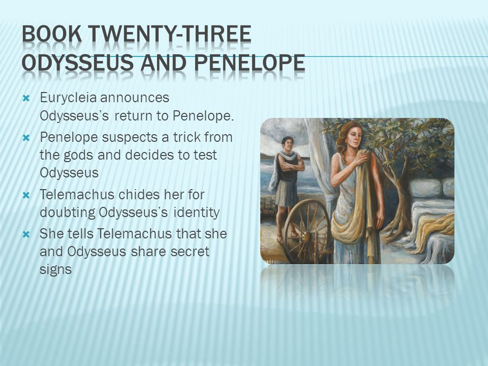 odysseus and penelopes relationship counseling