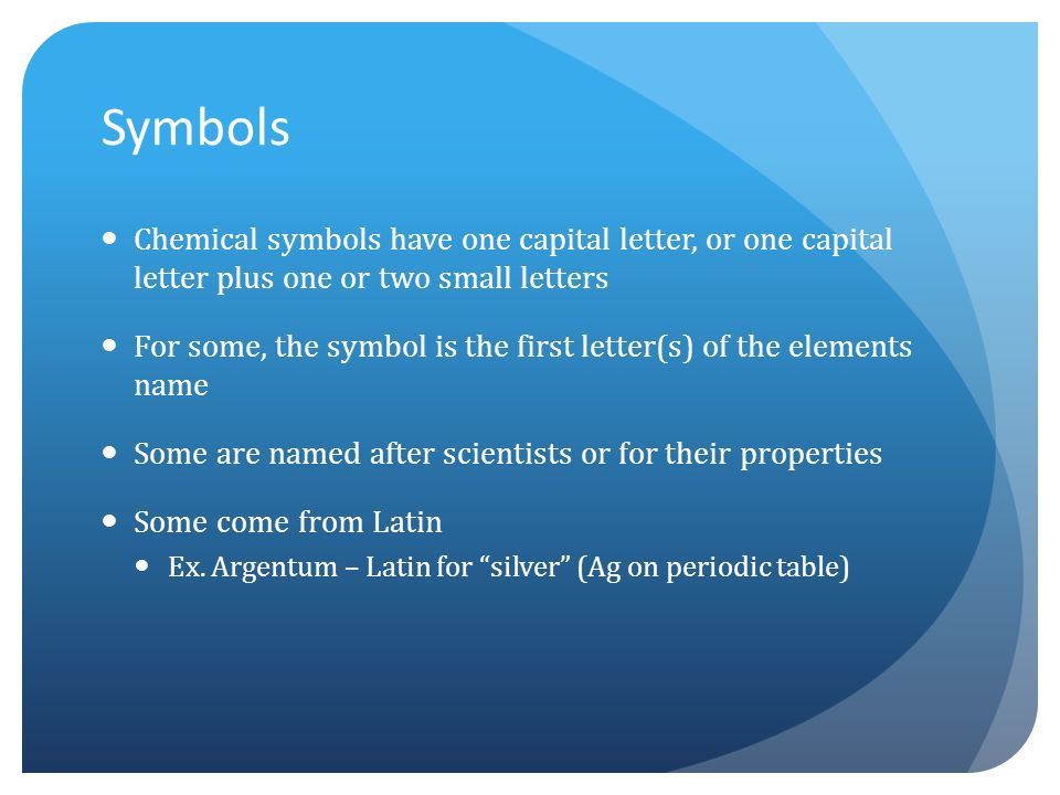 Chapter 17 properties of atoms and the periodic table ppt video 2 symbols chemical urtaz Image collections