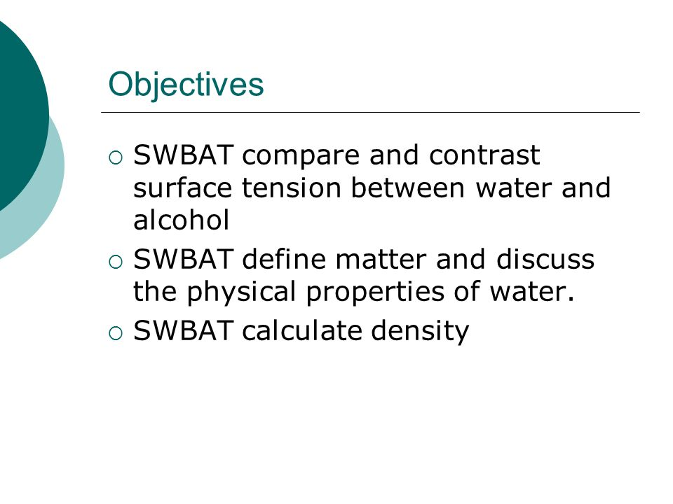 1B. Looking at Water & Its Contaminants - ppt download