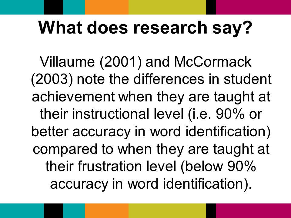 "what does the research say about Report class size: what research says and what it means for state policy matthew m chingos and grover j ""russ"" whitehurst wednesday, may 11, 2011."