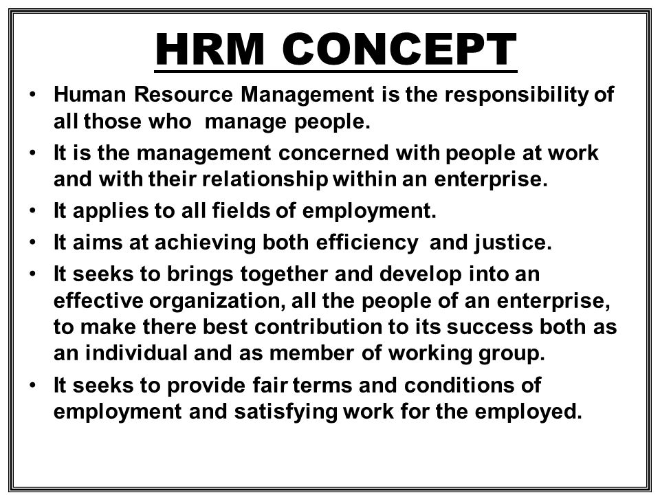 Human Resource Practice CIPD Certificate