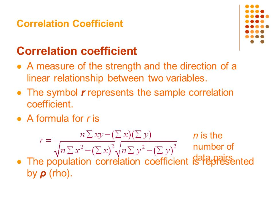 nonlinear relationship and correlation coefficient significance