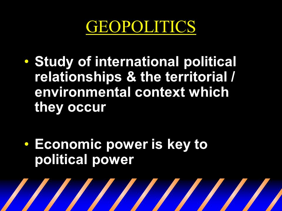 a study on geopolitics View conducting the study of geopoliticspdf from foreign af 101 at universidad del rosario 611906 research-article2016 psw00101177/1478929915611906political.