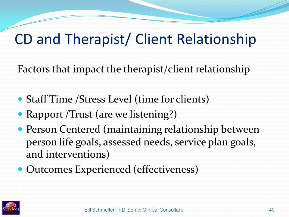 between therapist and client the new relationship trust