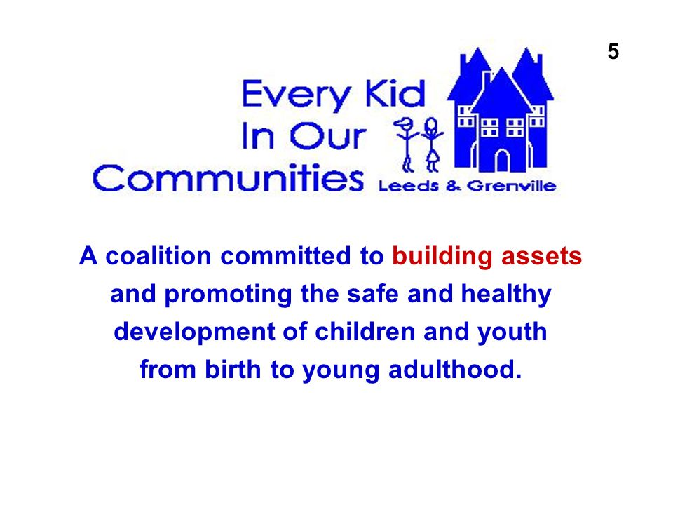 A coalition committed to building assets