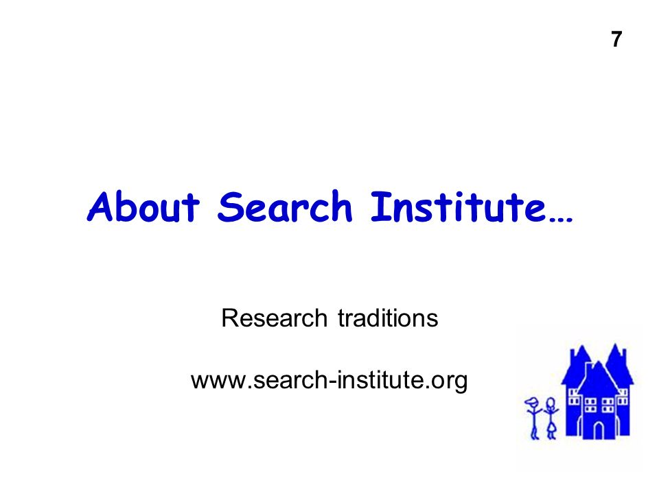 About Search Institute…
