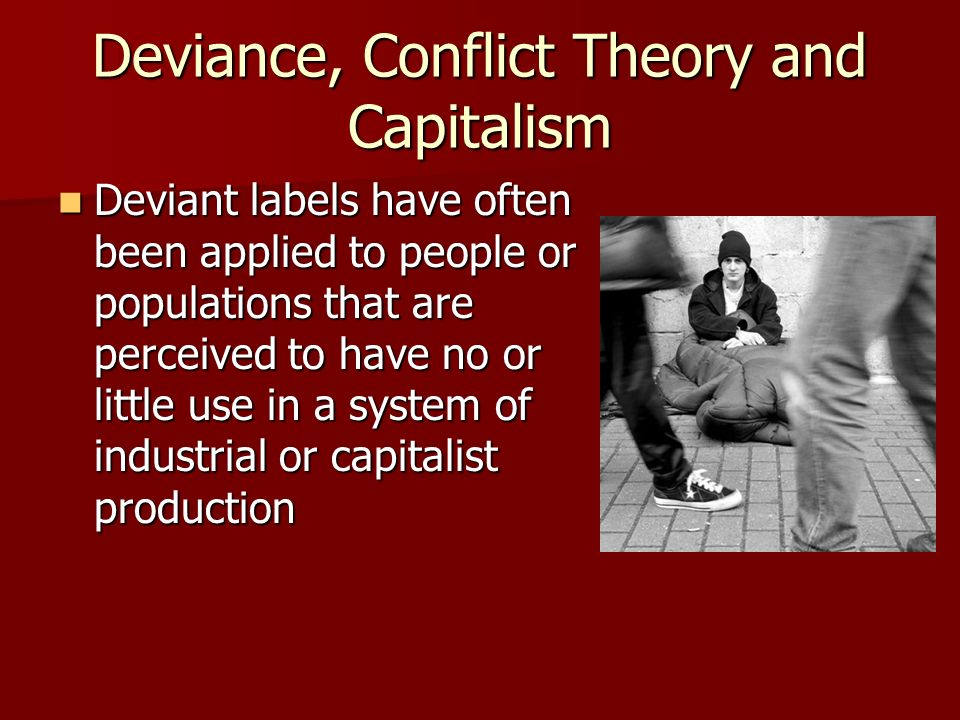 conflict and labeling theory Extracts from this document introduction compare and contrast the labelling perspective and rational choice theory intro the extent to which formal sanctions have some bearing on the behaviour of offenders is a focal point of both rational choice theory and labelling perspectives (baumer, wright kristinsdottir & gunnlaugsson.