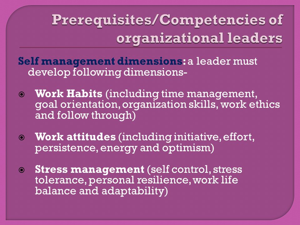 organizations and the idea of competence The kipp leadership framework and competency model describes the competencies and behaviors this category allows flexibility for regional organizations to builds coalitions to garner support by aligning proposals/ideas with the.