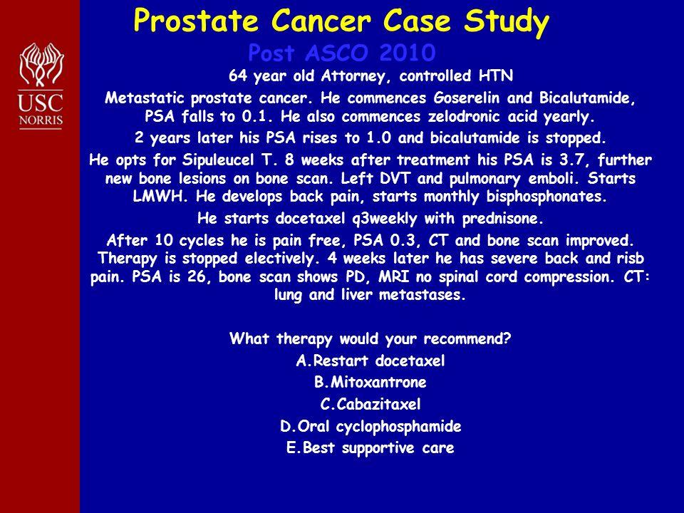 nursing case study lung cancer