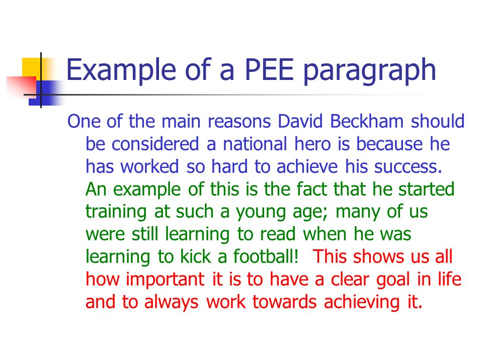 example of fact paragraph This simple example of a multi-point paragraph shows how such a paragraph is  often organized  introduced 4 what facts are used to support the points.