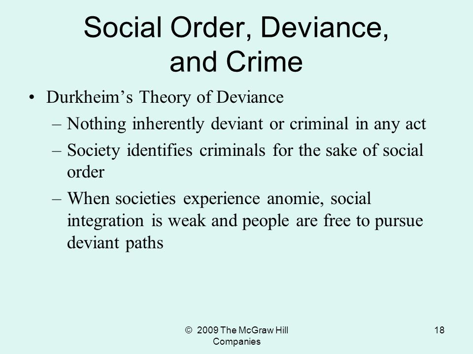 social deviance Social deviance social deviance is a term that refers to forms of behavior and qualities of persons that others in society devalue and discredit.