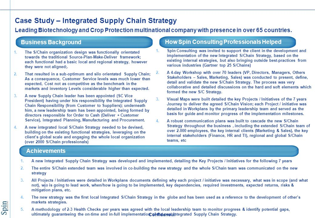 supply company plan lawsuit study
