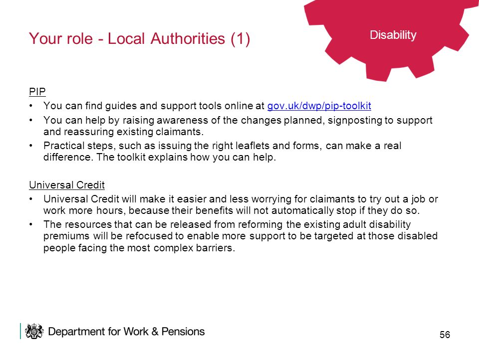 Your role - Local Authorities (1)