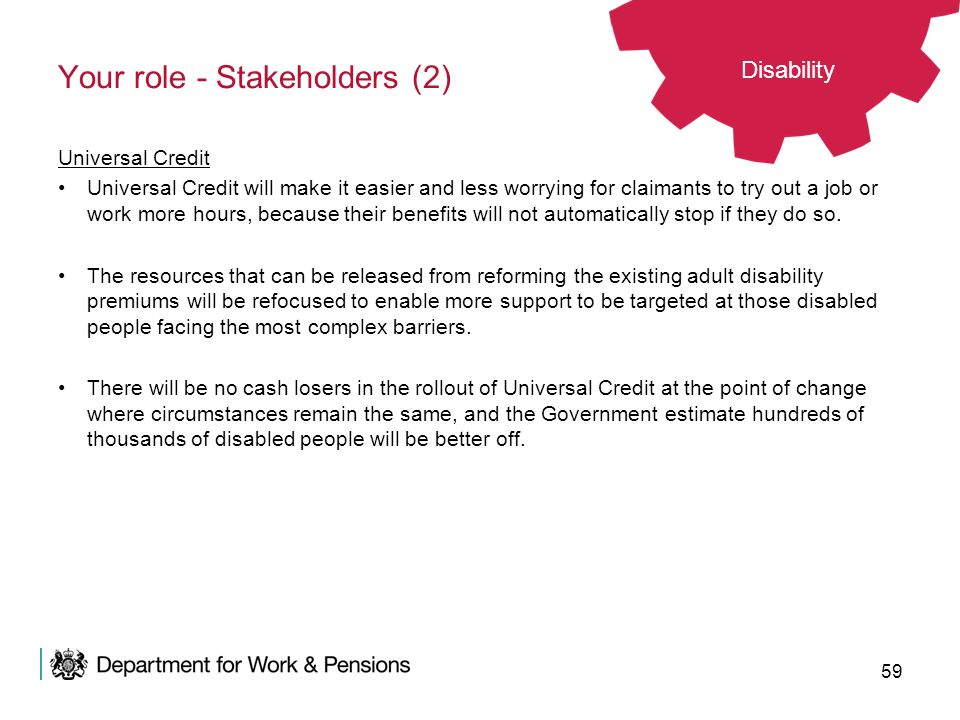 Your role - Stakeholders (2)