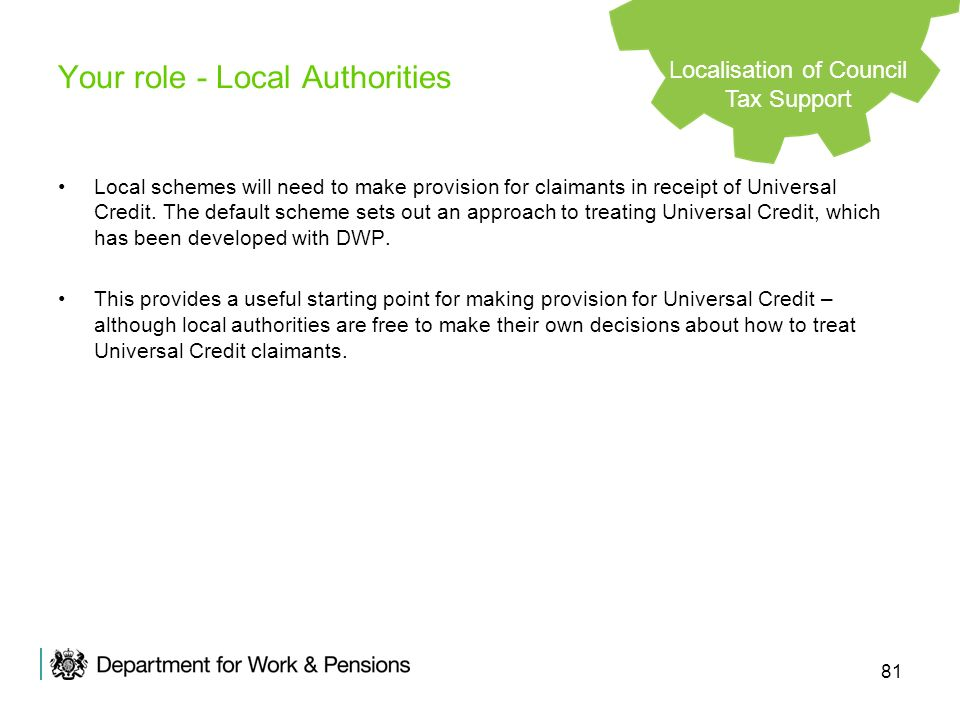Your role - Local Authorities