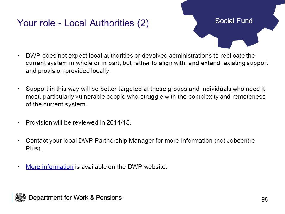 Your role - Local Authorities (2)