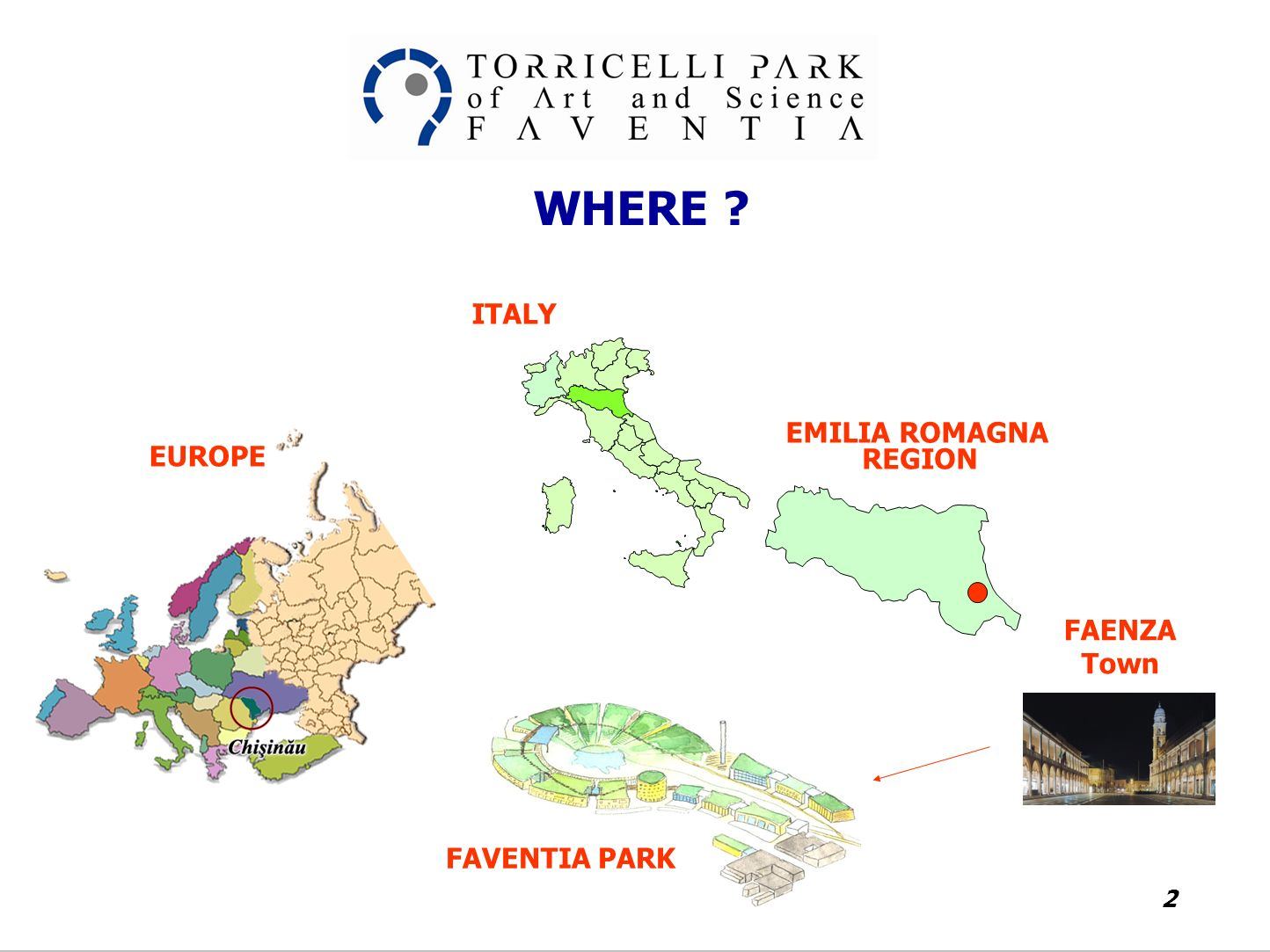 The Park of Art Science Evangelista Torricelli ppt download
