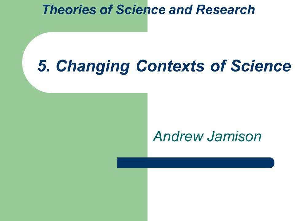 the making of green knowledge jamison andrew