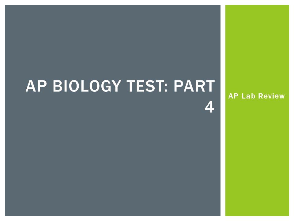 ap biology ap test essays
