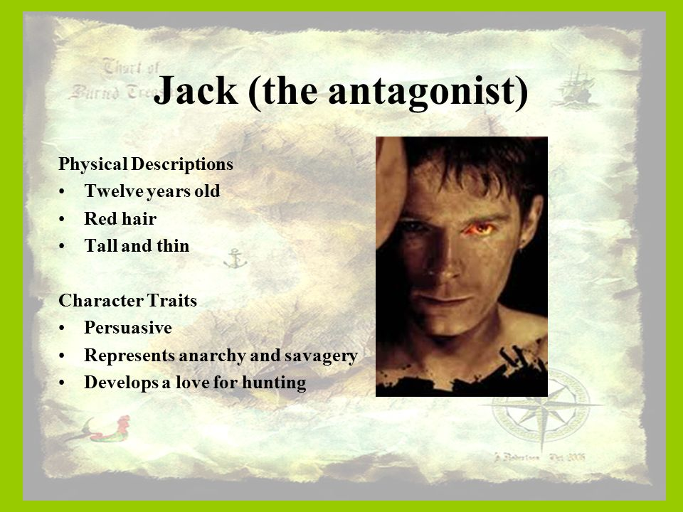 a character analysis of jack from lord of the flies Category: character analysis, jack and ralph title: lord of the flies.