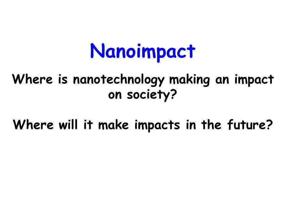 interdisciplinary learning and nanoimpact