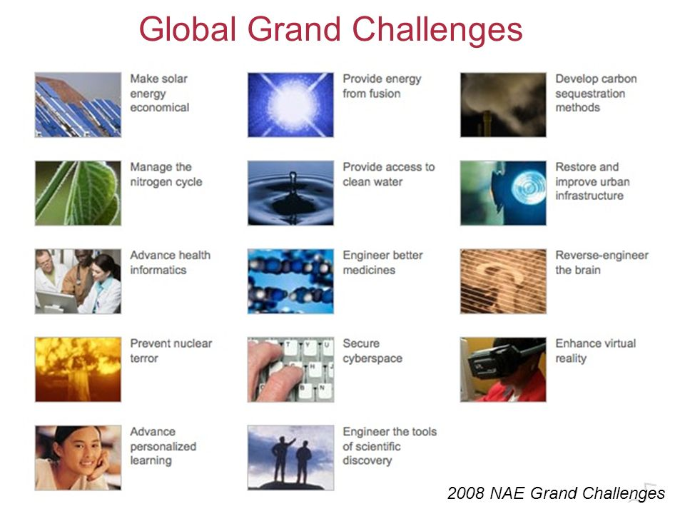 Grand Challenges In Environmental Engineering 2017 2018