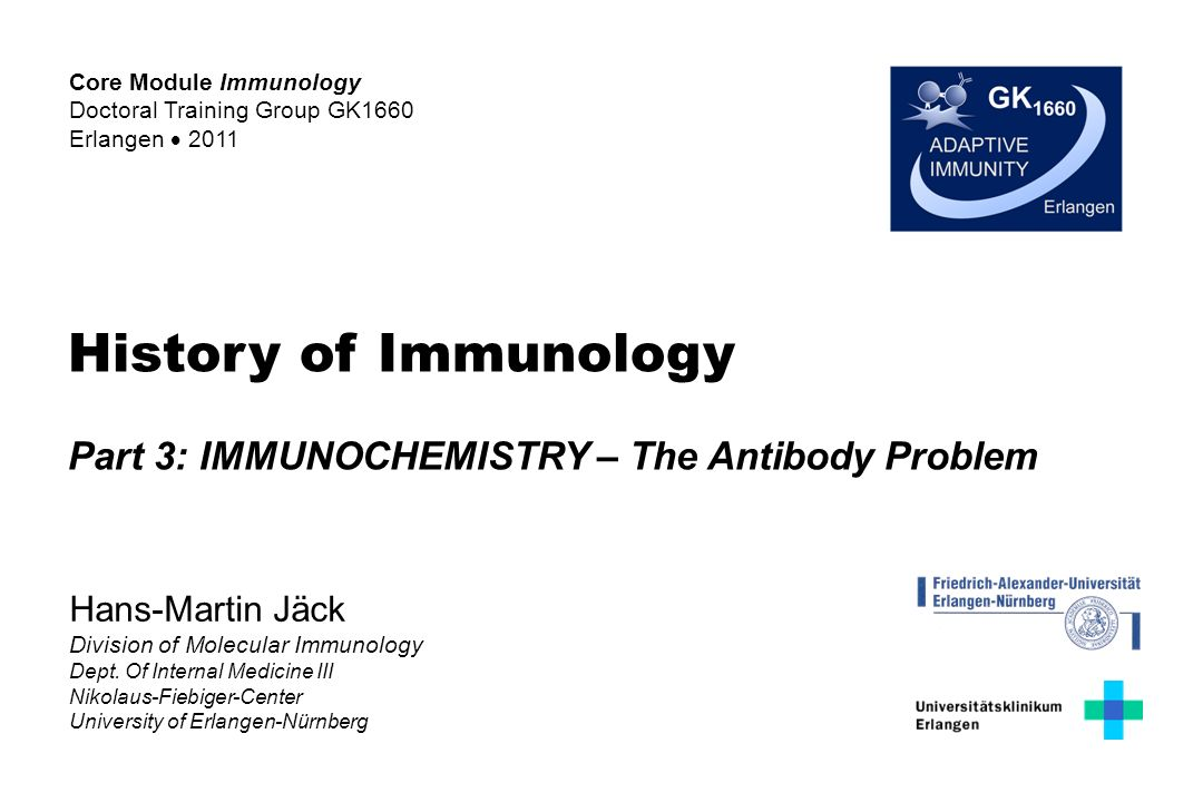 History of Immunology Part 3: IMMUNOCHEMISTRY – The Antibody Problem