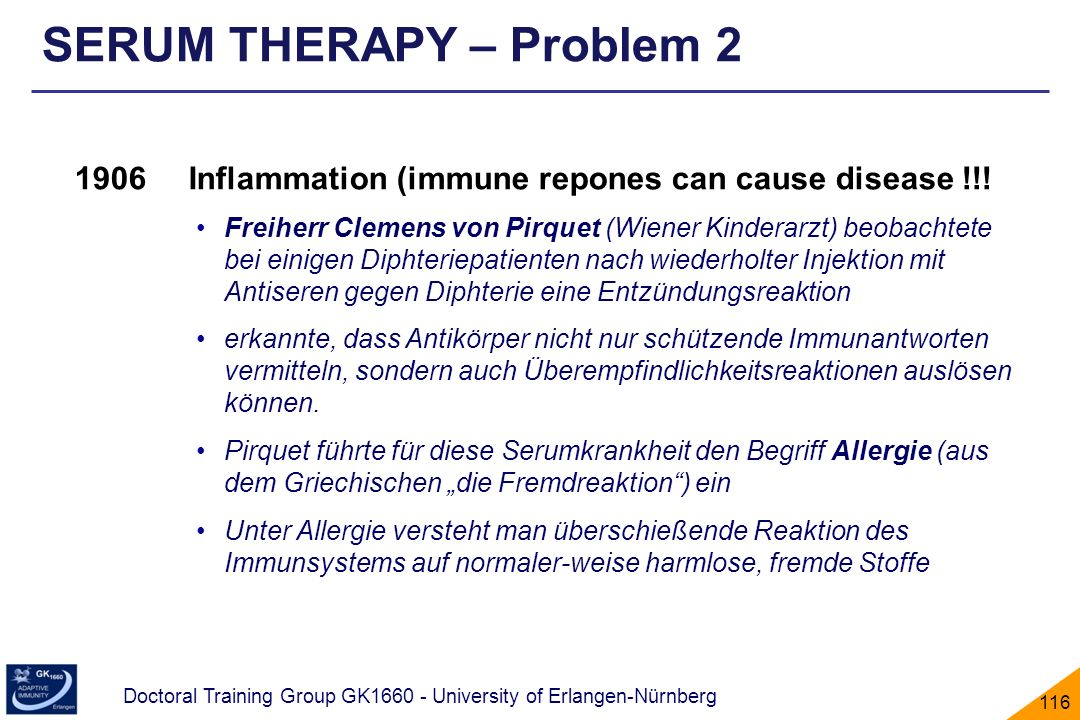 SERUM THERAPY – Problem 2