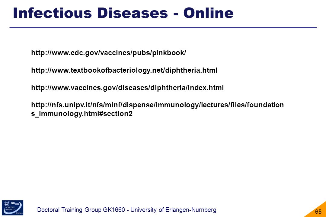 Infectious Diseases - Online
