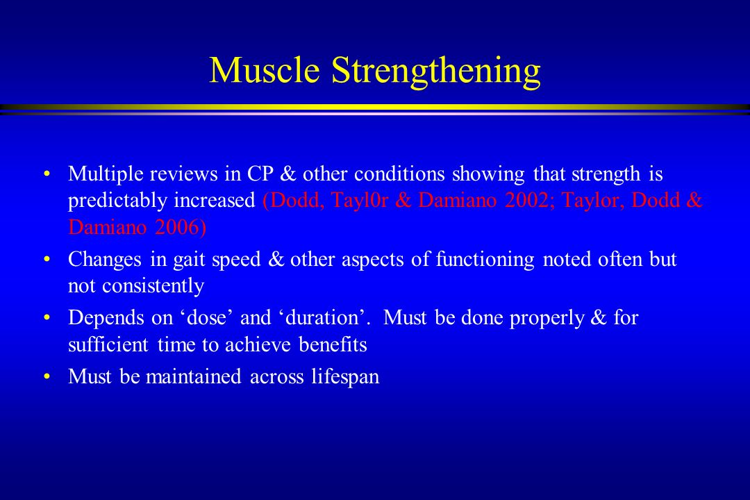 3/22/2017 Muscle Strengthening.
