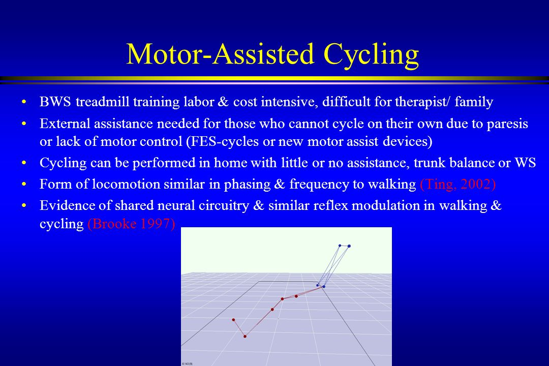 Motor-Assisted Cycling