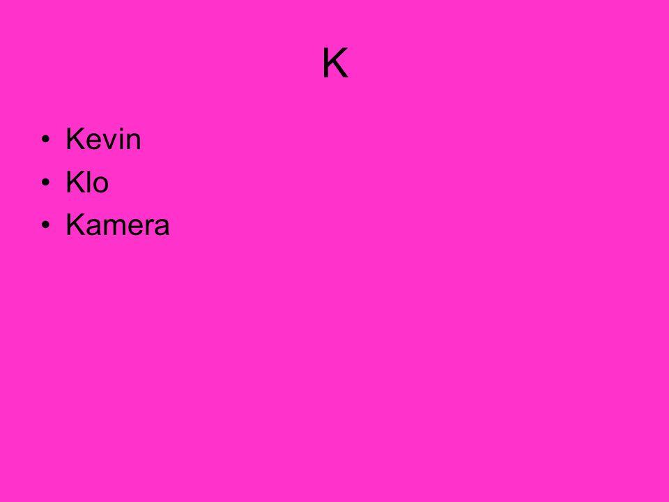 K Kevin Klo Kamera