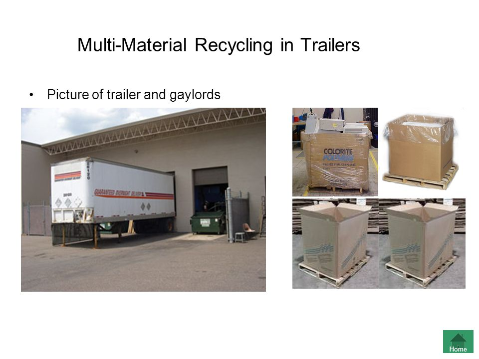 Multi-Material Recycling in Trailers