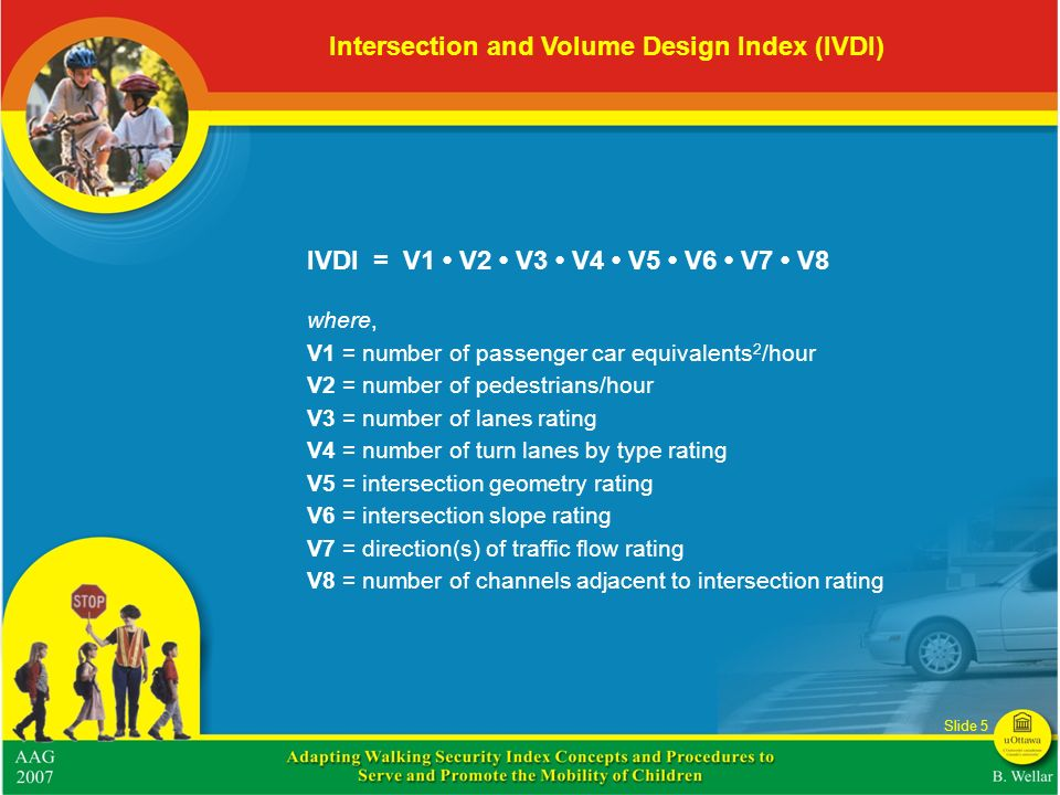 Intersection and Volume Design Index (IVDI)