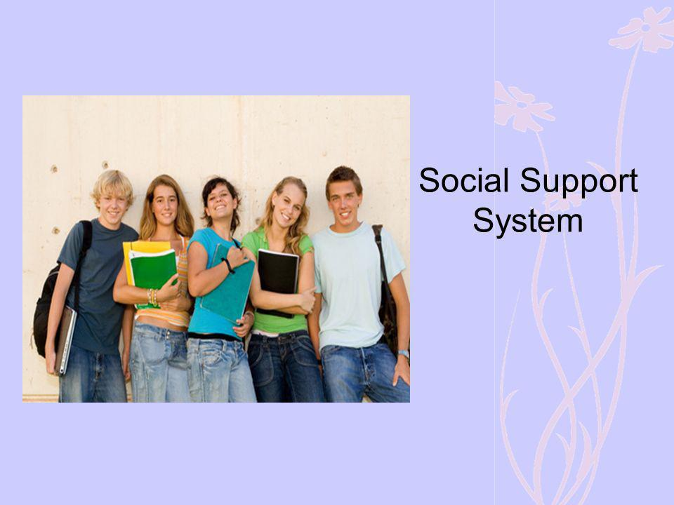 Social Support System The most important indicator for healthy grieving, at any age, is a strong support system.