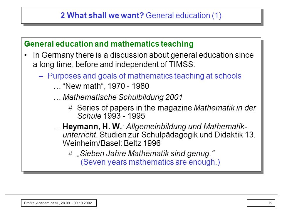 2 What shall we want General education (1)