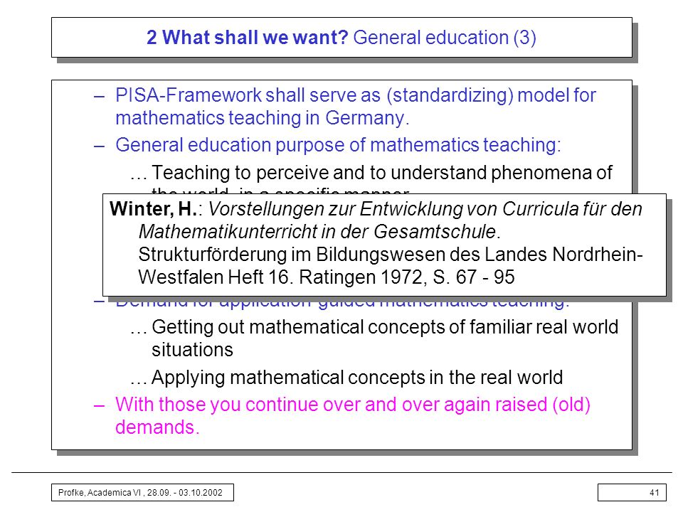 2 What shall we want General education (3)