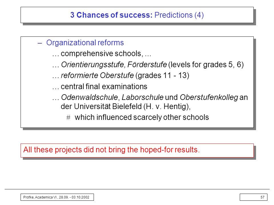 3 Chances of success: Predictions (4)