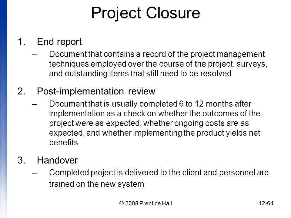 introduction to project management chapter 12 managing