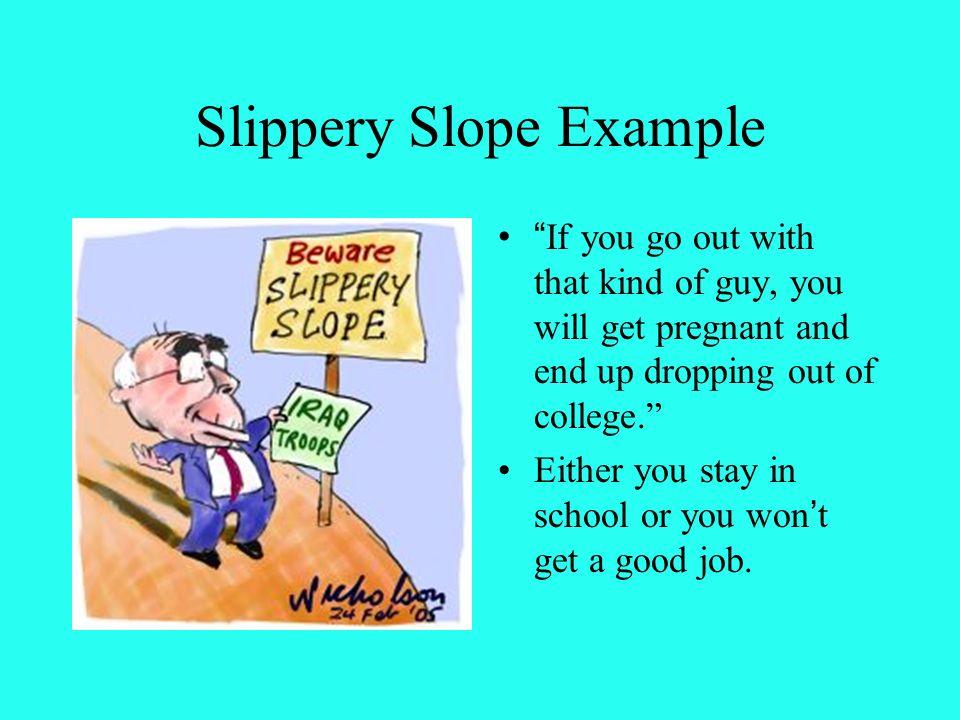 slippery slope argument