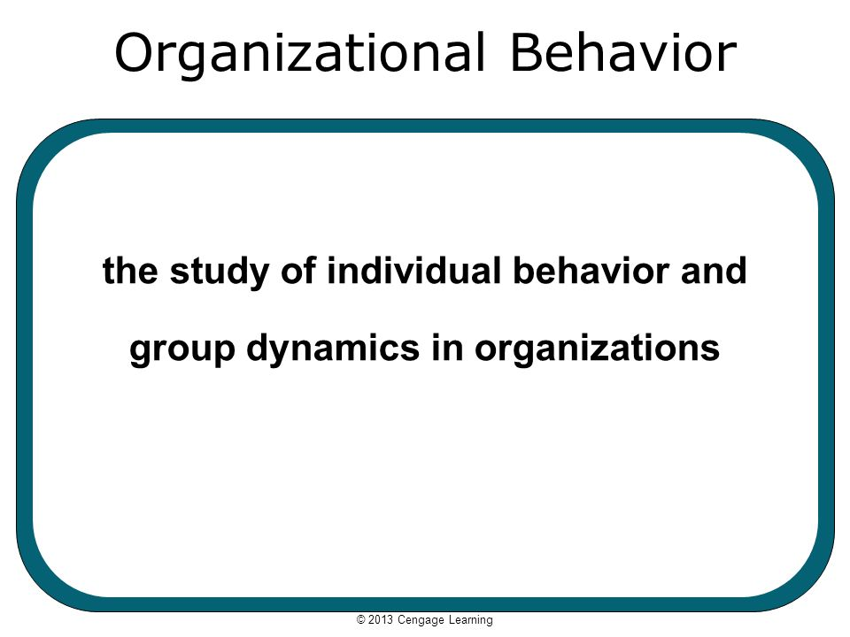 organizational behavior and group dynamics Organizational behavior is the study and application of knowledge about how people, individuals and group dynamics within the organization.