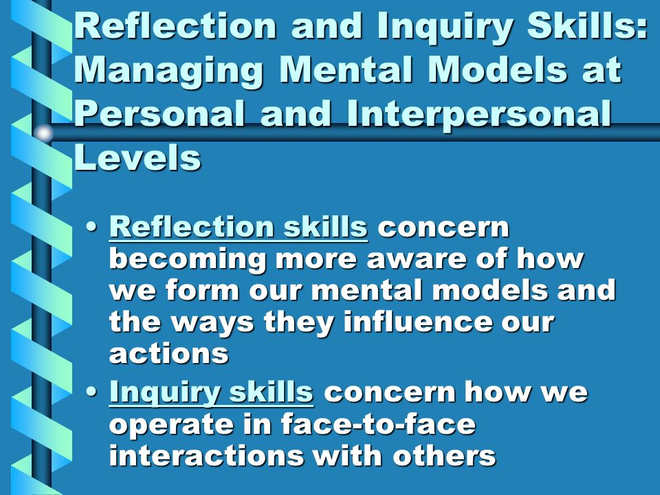 reflection on interpersonal skills Although many ambitious employees focus on modifying their technical skills to get ahead, in reality, interpersonal skills are the key differentiator  4 interpersonal skills all employees should develop  self-awareness is best developed through self-reflection and feedback.