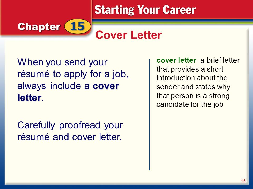 Planning your retail career ppt download for Should you always include a cover letter