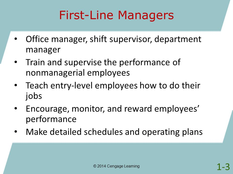 Chapter 1 Management MGMT6 © 2014 Cengage Learning.