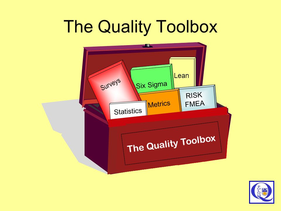 The Quality Toolbox The Quality Toolbox The Quality Toolbox Lean