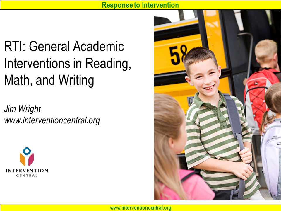 RTI General Academic Interventions in Reading Math and Writing – Intervention Central Math Worksheet Generator