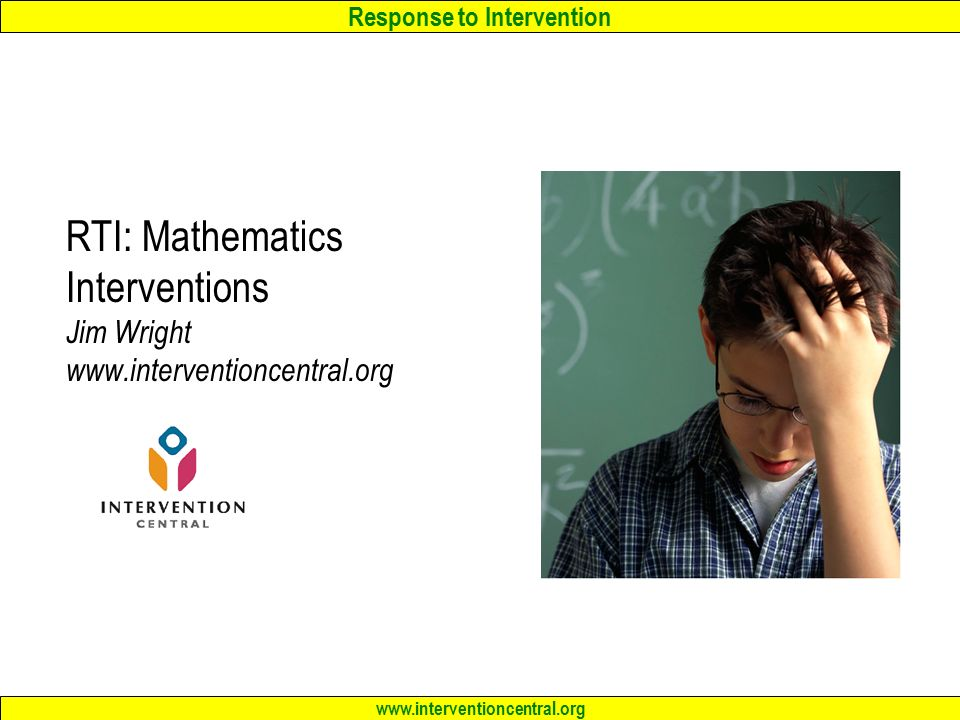 math worksheet : rti general academic interventions in reading math and writing  : Intervention Central Math Worksheet Generator