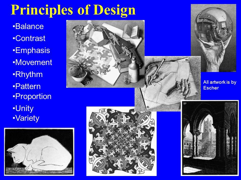 All Principles Of Design : Principles of art visual arts avi mrs amor ppt video