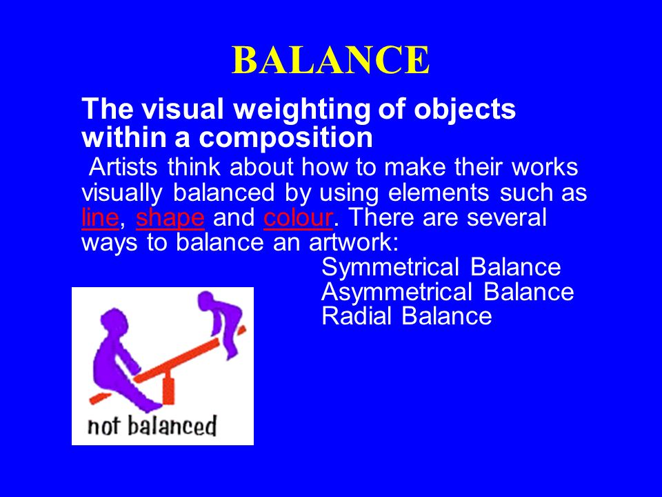 Value Balance Art Definition : Principles of art visual arts avi mrs amor ppt video