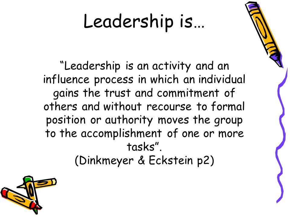 leadership activity